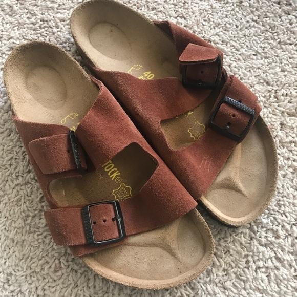 2d217b8bf8695d Birkenstock Shoes - Women s Burnt Birkenstock Sandals